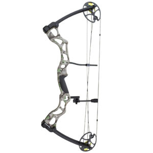 grey compound bow