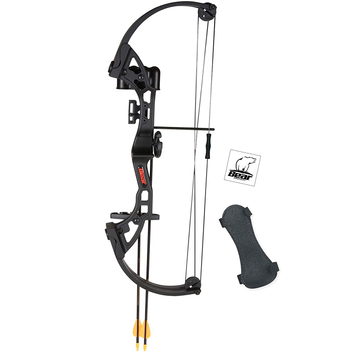 bear archery bow set