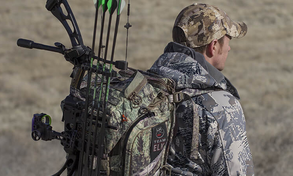 How To Carry A Compound Bow On Your Back
