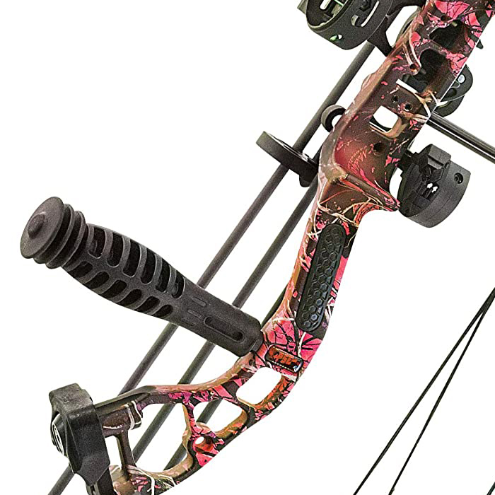 pink camo bow
